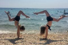 Klaric Tamara und Tamina - Pag-Kroatien