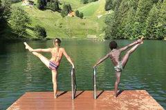 Buchner Selam und Schertler Paula - Seewaldsee